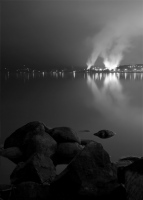 Tolko Mill Reflection