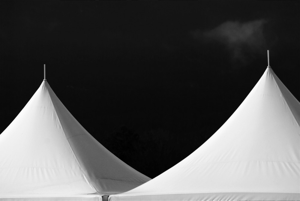 Two Tents One Cloud