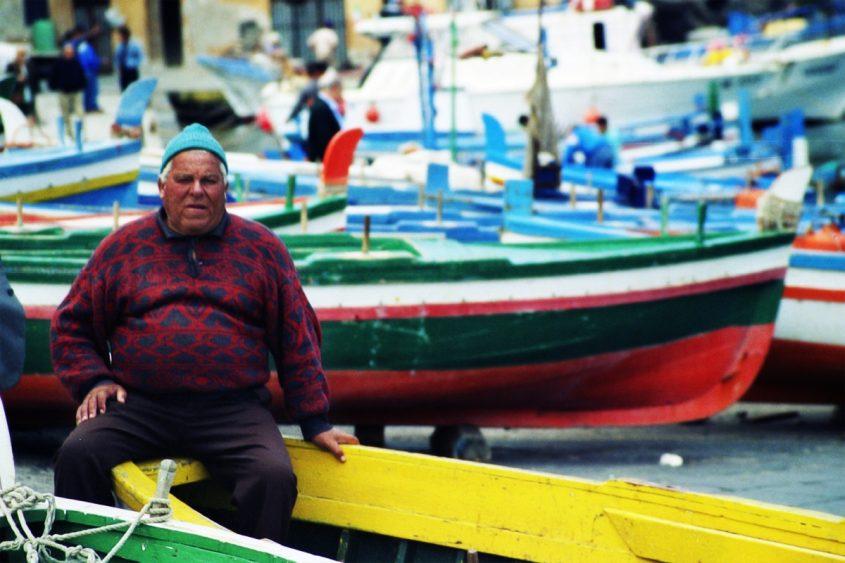 Fisherman in the Off Season