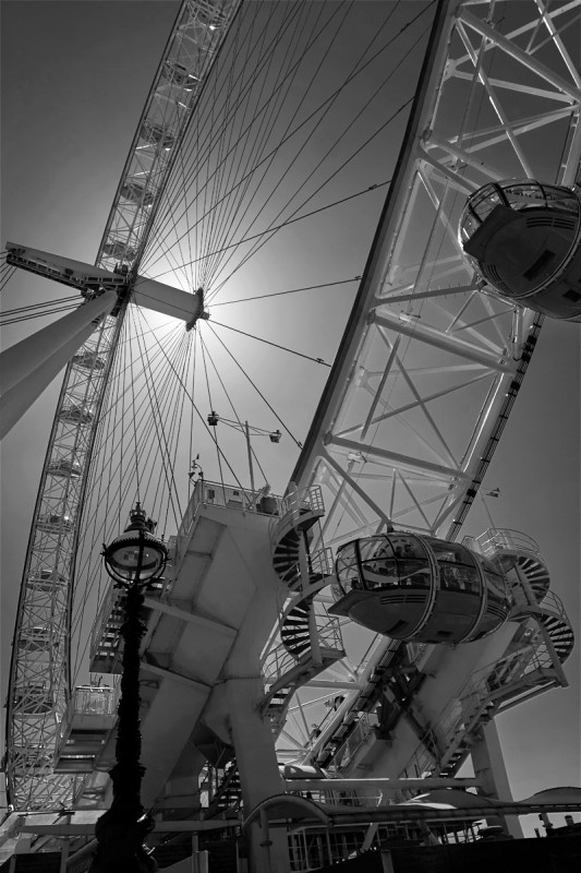 London Eye - Flare