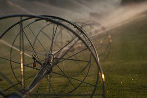Irrigation at Sunset #2